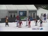 Cross Country Skiing Men 50KM Classic.Чёткий финиш .