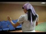 Chrystal Callahan - Уроки чеченского танца.